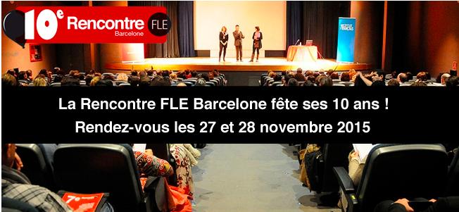 RV les 27 et 28 novembre à Barcelone pour, entre autres, des ateliers sur la classe inversée en FLE avecEDML