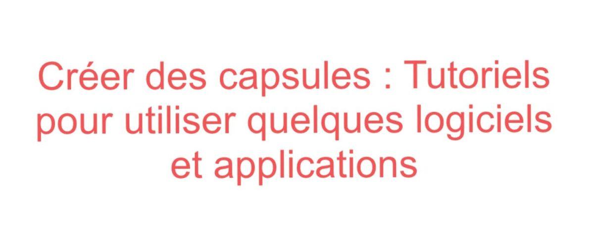 Créer des capsules : prolongement de l'atelier «Sensibilisation à la classe inversée»(Barcelone, EMDL)