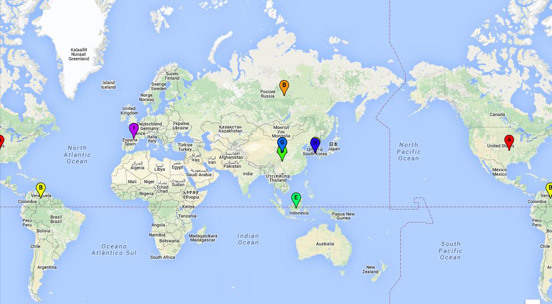 Utiliser la cartographie en ligne pour présenter des productionsécrites